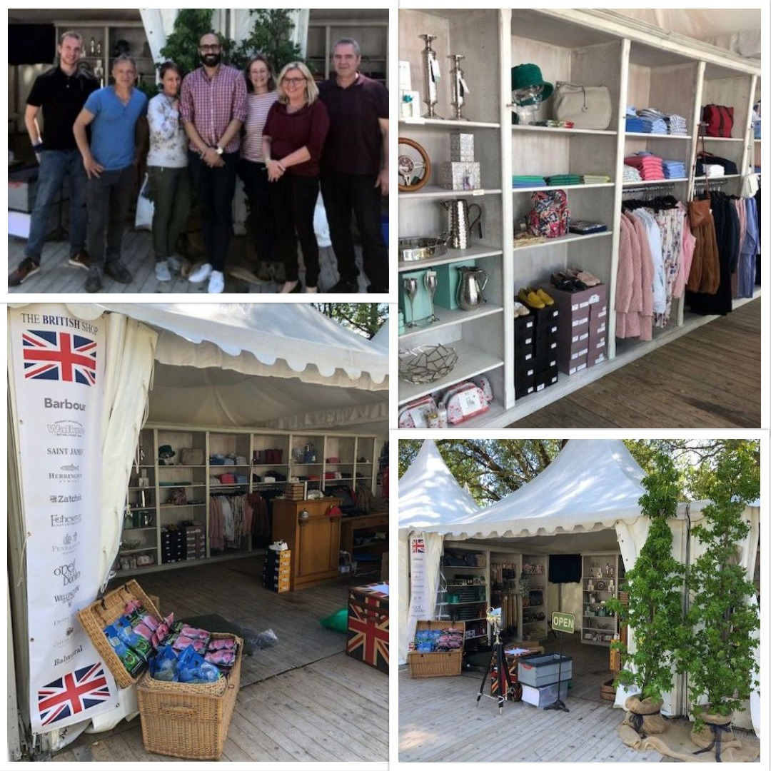 THE BRITISH SHOP bei der Landpartie Burg Adendorf 2019