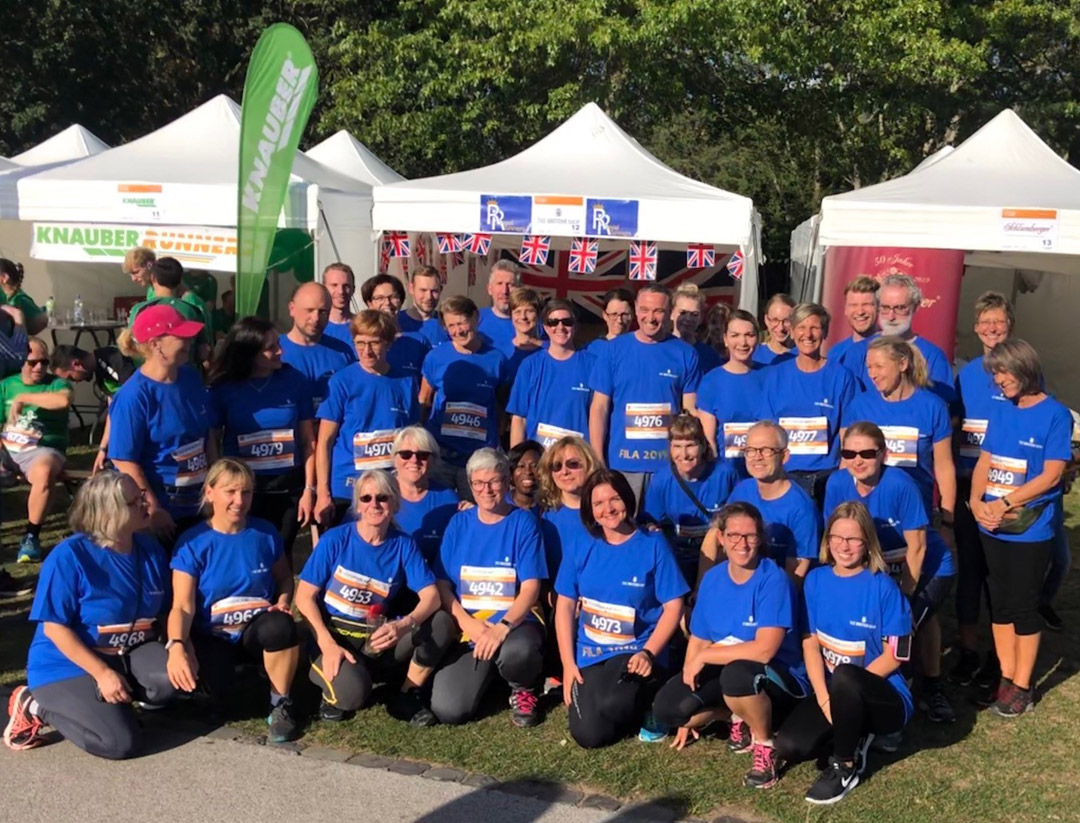 "Firmenlauf Bonn 2019: ""Royal Runners"" in the sunshine"