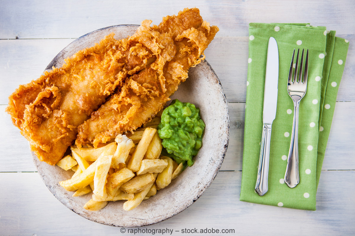 National Fish and Chip Day: Großbritannien feiert seine Fish and Chips