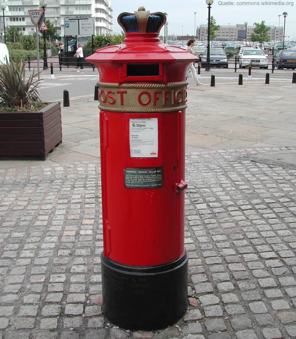 Postbox in Liverpool