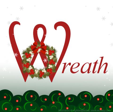 the british shop blog w wie wreath. Black Bedroom Furniture Sets. Home Design Ideas